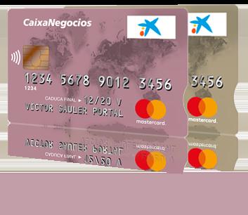 Targeta d'empresa de CaixaBank amb DevoluIVA